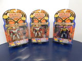 (3) PLAYMATES SKELETON WARRIORS ACTION FIGURES - NOS