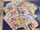 (20) X-MEN COMIC BOOKS - MARVEL COMICS