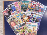 (12) ASSORTED X-MEN COMIC BOOKS - ,ARVEL COMICS