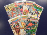(7) SPIDER WOMAN COMIC BOOKS - MARVEL COMICS
