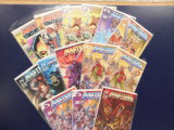 (14) MASTERS OF THE UNIVERSE COMIC BOOKS - ASSORTED PUBLISHERS