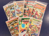 (7) SPIDERMAN COMIC BOOKS - MARVEL COMICS