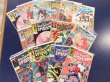(14) SPIDERMAN COMIC BOOKS - MARVEL COMICS