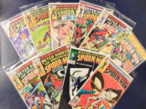 (10) SPIDERMAN COMIC BOOKS - MARVEL COMICS