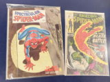 (2) SPIDERMAN COMIC BOOKS - MARVEL COMICS