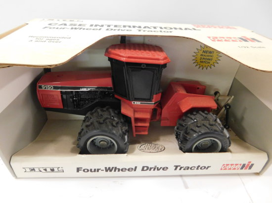 1988 ERTL 1/32 SCALE CASE IH FOUR WHEEL DRIVE TRACTOR