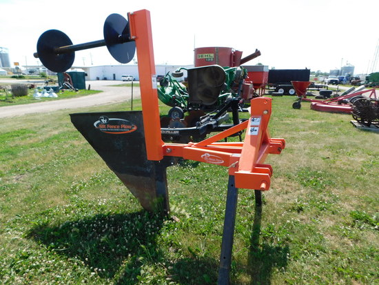 McCORMICK EQUIPMENT CO 3 PT SILT FENCE PLOW - USED VERY LITTLE