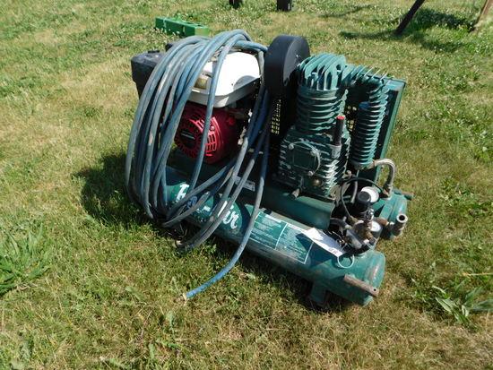 ROL-AIR PORTABLE GAS POWERED JOBSITE AIR COMPRESSOR