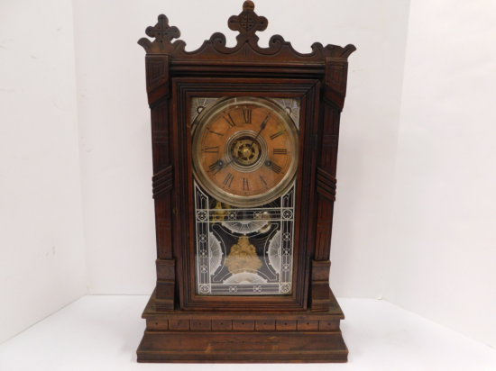VINTAGE WILLIAM L GILBERT CLOCK CO MANTEL CLOCK
