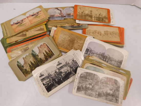 VINTAGE STEREOSCOPE PHOTOS