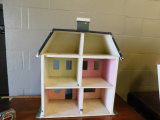 HAND MADE VINTAGE CHILDRENS THREE STORY HOUSE