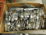 VINTAGE SILVER PLATED FLAT WARE