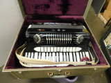 VINTAGE ACCORDIAN WITH CASE