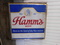 OUTSIDE HANGING DOUBLE SIDED HAMMS BEER PLASTIC LIGHTED SIGN