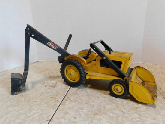 BUDDY L TRACTOR/LOADER/BACKHOE