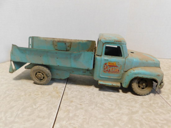 BUDDY L SIT-N-RIDE STEEL TOY TRUCK