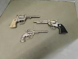 3 VINTAGE CHILDS CAP GUNS