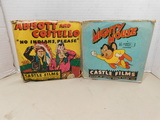VINTAGE 16MM MIGHTY MOUSE AND ABBOTT AND COSTELLO FILM REELS