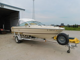 1986 SEA RAY SEVILLE 16FT BOW RIDER W/ TRAILER