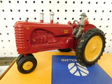 EARLY 1/16 MASSY HARRIS 44 TRACTOR W/ DRIVER