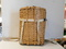 WEAVED FISHING / TRAPPERS BASKET BACKPACK