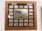 WILD TURKEY STAMP FRAMED PICTURE