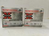 50 ROUNDS OF WINCHESTER 12 GAUGE SHOT GUN SHELLS