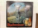 LIGHTED BUWEISER WALL SIGN; THE HUNTED