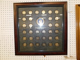 NWTF MEDALLION COLLECTION FRAME 2007