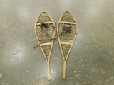 (2) WOODEN SNOW SHOES