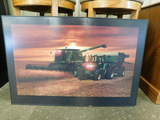 LIGHTED HARVESTING PICTURE