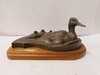 DUCKS UNLIMITED WOOD GRAVED PLAQUE