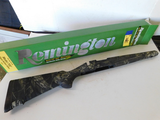 REMINGTON SYNTHETIC RIFLE STOCK FOR MODEL 700 XCR SHORT ACTION RIFLE - NIB