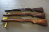 (3) MILITARY RIFLE STOCKS