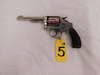 SMITH & WESSON HAND EJECTOR .32 WIN CAL 6 SHOT NICKLE FINISH REVOLVER