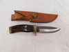 BUCK #192C FIXED BLADE KNIFE W/ LEATHER SHEATH & BOX