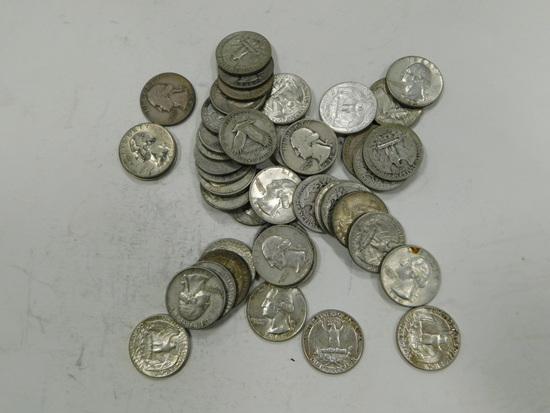 $10.76 FACE SILVER QUARTERS