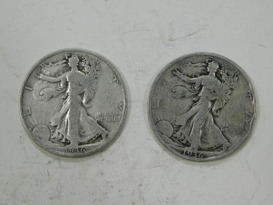 1936S LIBERTY HALF DOLLAR
