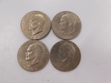 (2) 1972; (2) 1776/1976 EISENHOWER DOLLARS