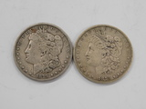 (2) 1879 MORGAN DOLLARS