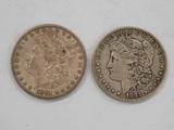 (2) 1881 MORGAN DOLLARS