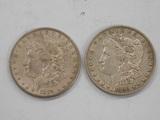 1889 & 1890 MORGAN DOLLARS