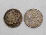 18910 & 1898 MORGAN DOLLARS