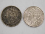 (2) 1900 MORGAN DOLLARS