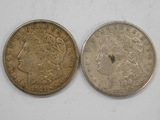 (2) 1921 MORGAN DOLLARS