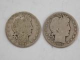1902 & 1906 BARBER / LIBERTYHEAD HALF DOLLAR