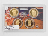 4 PC. PRESIDENTIAL PROOF DOLLARS
