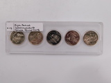 (5) UNCIRCULATED STATE QUARTERS