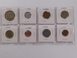 (8) FOREIGN COINS