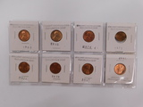(8) UNCIRCULATED LINCOLN CENTS